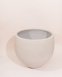 THE ARCHIVE - Fiberstone Moon Rock Planter (Light Cement)