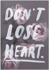 THE ADVENTURES OF - Don't Lose Heart A3 PRINT