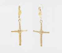 RELIQUIA - Cross Earrings