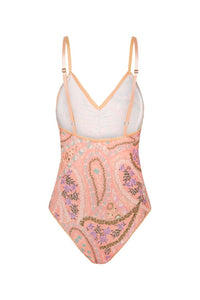 SPELL - City Lights Bodysuit (Peach)