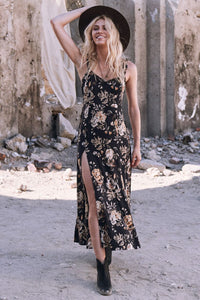 SPELL - Rosa Sun Dress (Coal)