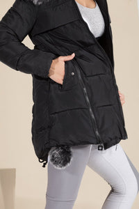 Toast Society - Starburst Puffer Jacket (Black)