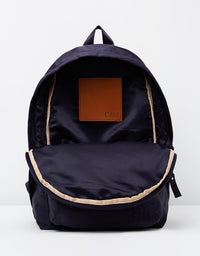 C&M - Satin Backpack (NAVY)