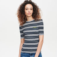 ZOE KARSSEN - Love is Our Resistance slim fit rib t-shirt