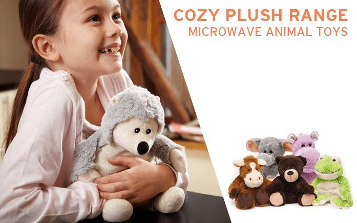 Cozy Plush Range of Microwave Animal Toys