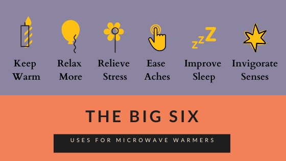 Top six uses for microwave body warmers