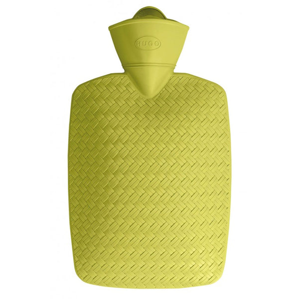 Lime Wicker Hot Water Bottle