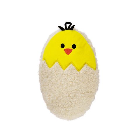0.2 Litre Luxury Mini Hot Water Bottle with Egg Fleece Cover (rubberless)