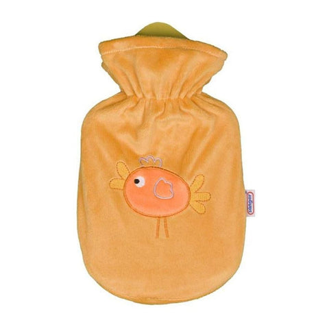 0.8 Litre Sanger Hot Water Bottle with Duck Cover