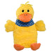 "0.8 litre ""Eco-Sustainable"" Hot Water Bottle with Velvety Soft Plush Duck Cover (rubberless)"