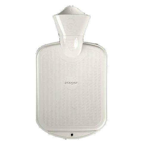 0.8 Litre White Sanger Hot Water Bottle