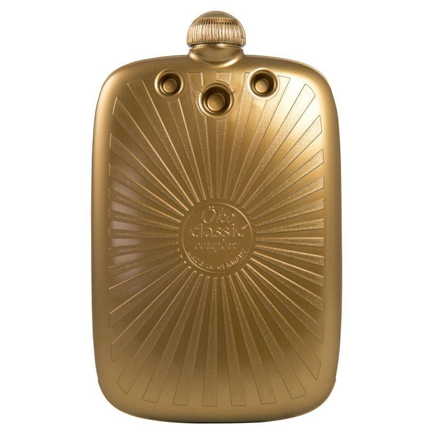 "2 litre ""Eco-Sustainable"" Luxury Gold Hot Water Bottle (rubberless)"