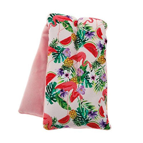 Flamingo Print Scented Microwaveable Body Wrap