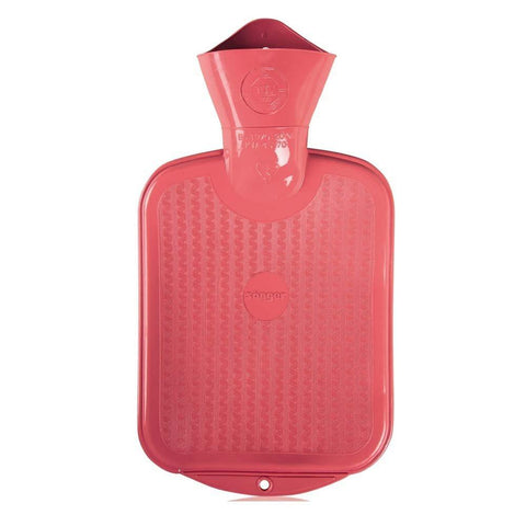 0.8 Litre Pink Sanger Hot Water Bottle