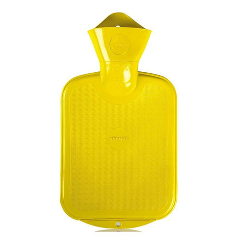 0.8 Litre Yellow Sanger Hot Water Bottle