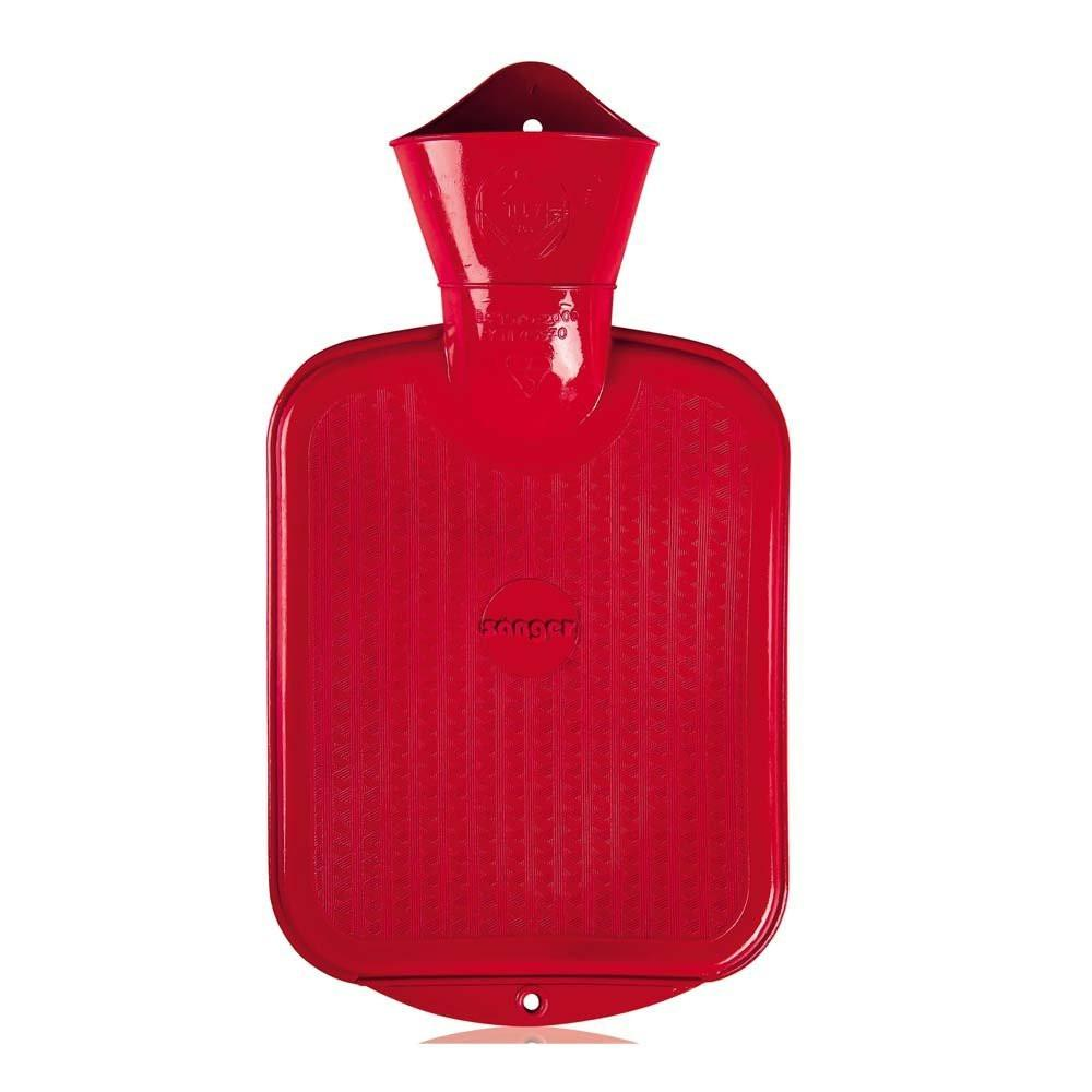 0.8 Litre Red Sanger Hot Water Bottle