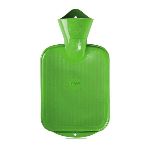 0.8 Litre Green Sanger Hot Water Bottle
