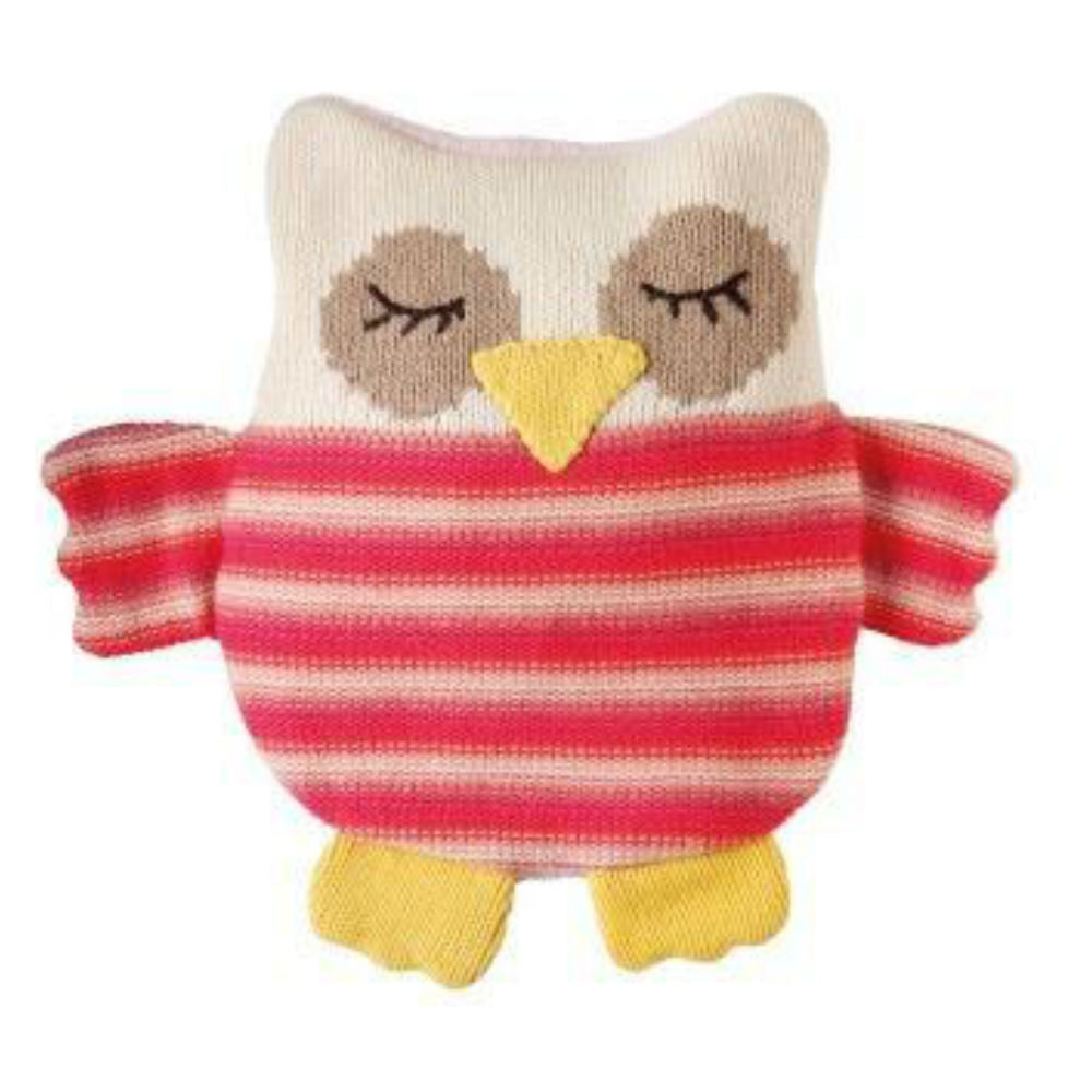 Knitted Owl Animal Hottie (Microwave Animal)