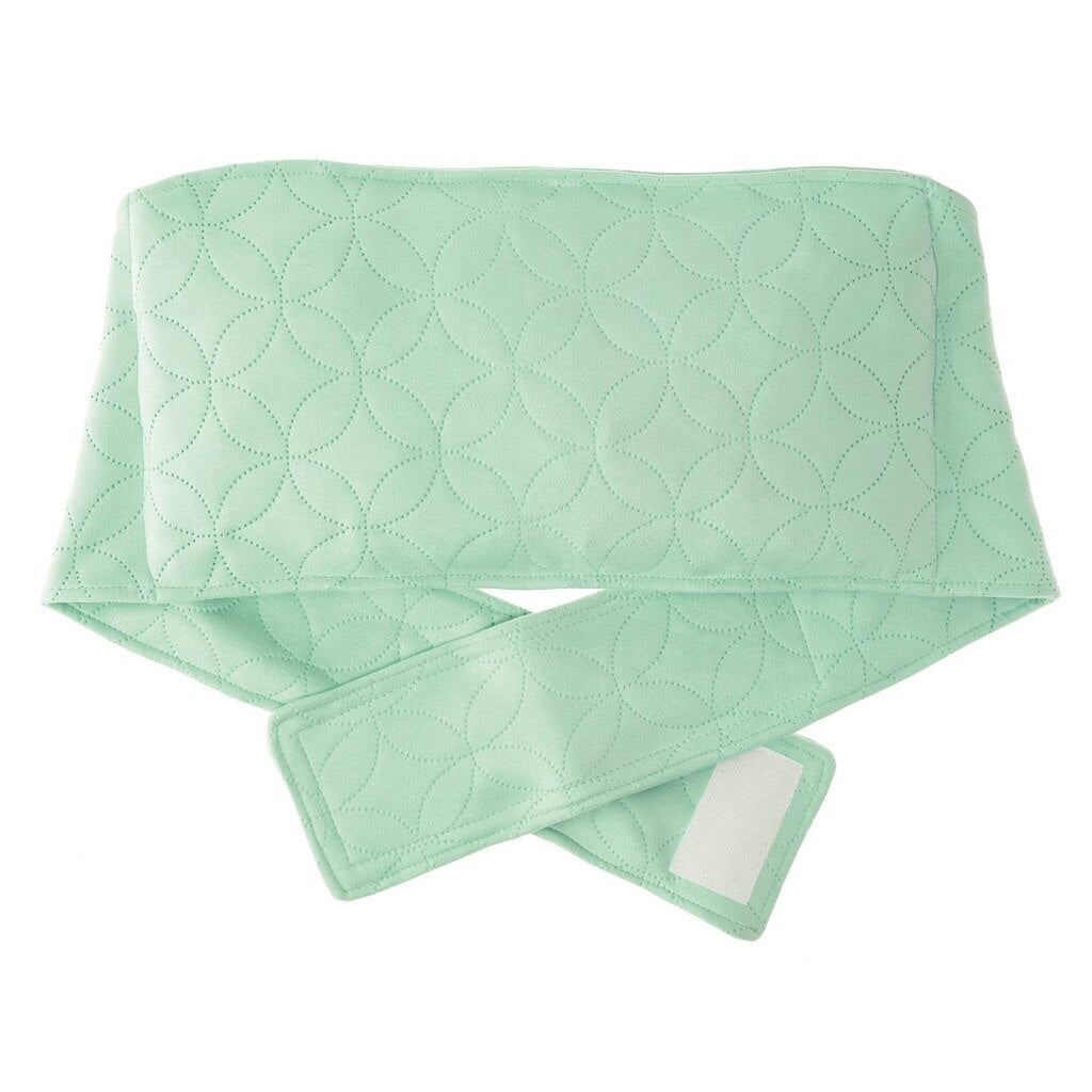 Relax and Warm Soothing Mint Green Microwavable Back Warmer