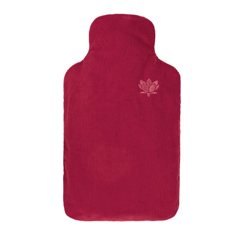 Burgundy Hot Bottle - Hotwaterbottleshop.co.uk