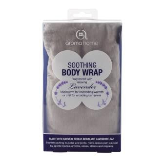 Grey Soothing Microwaveable Body Wrap - Hotwaterbottleshop.co.uk