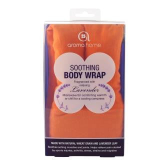 Orange Soothing Microwaveable Body Wrap - Hotwaterbottleshop.co.uk