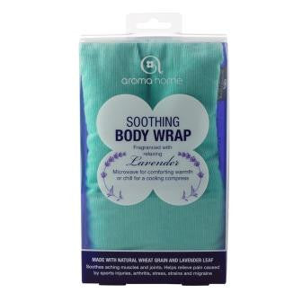 Turquoise Soothing Microwaveable Body Wrap - Hotwaterbottleshop.co.uk