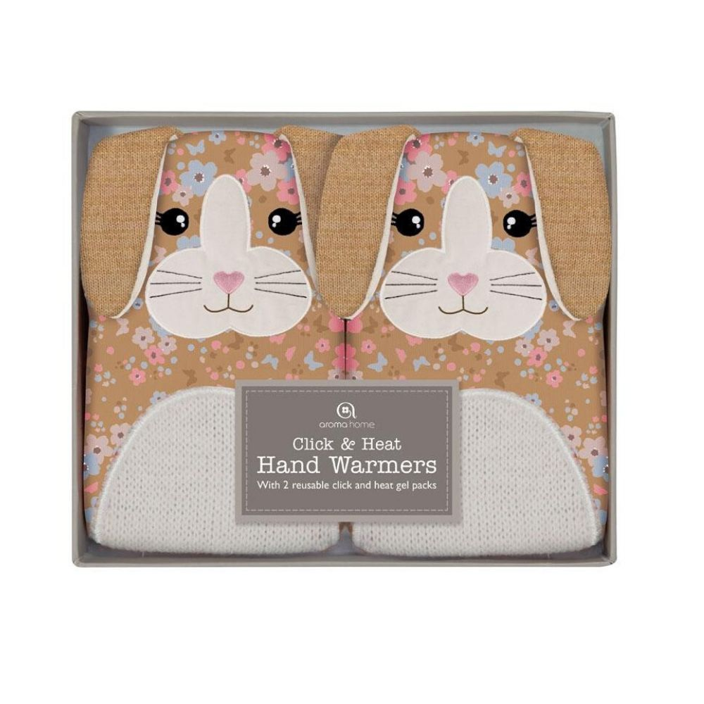 Knitted Bunny Animal Gel Hand Warmers