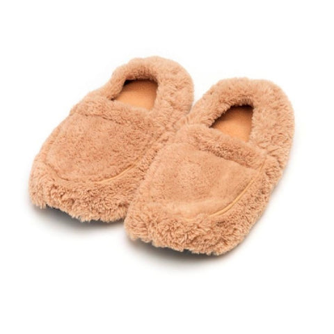 Luxury Heatable Beige Cozy Body Slippers (final few!)