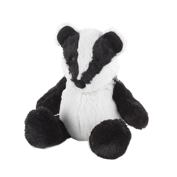 Cozy Plush Badger Microwave Animal