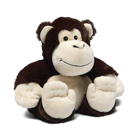 Cozy Plush Monkey Microwave Animal
