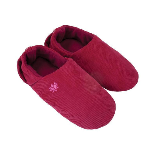 Burgundy Feet Warmers