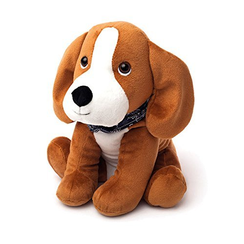 Cozy Plush Beagle Microwave Animal Toy