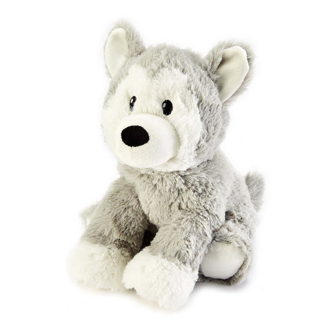Cozy Plush Husky Microwave Animal Toy