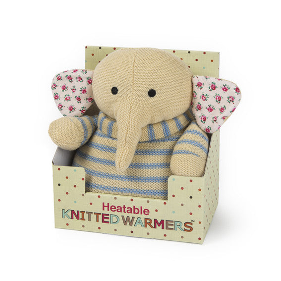 Knitted Warmers Microwave Elephant (final few!)