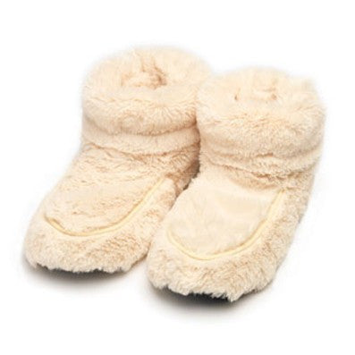 Luxury Heatable Cream Cozy Body Boots