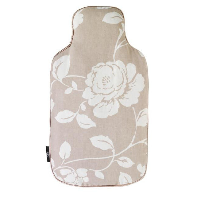 Meadow Pattern Microwave Body Warmer - Taupe - Hotwaterbottleshop.co.uk