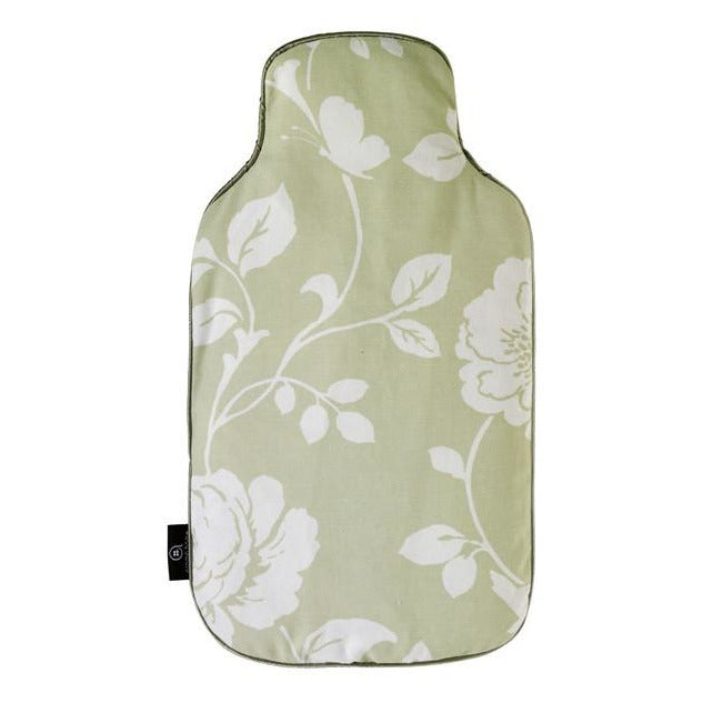 Meadow Pattern Microwave Body Warmer - Sage - Hotwaterbottleshop.co.uk
