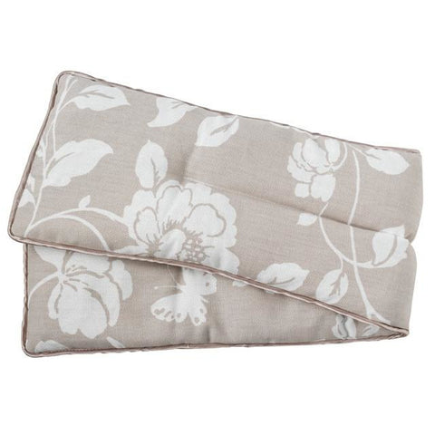 Meadow Pattern Microwave Body Wrap - Taupe - Hotwaterbottleshop.co.uk