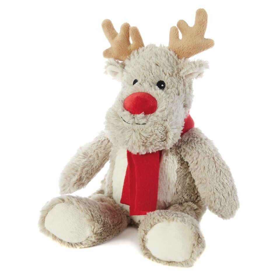 Cozy Plush Reindeer Microwave Animal Toy - Hotwaterbottleshop.co.uk