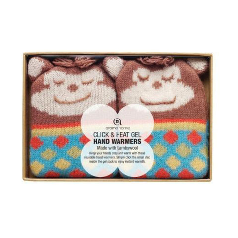 Knitted Monkey Animal Gel Hand Warmers