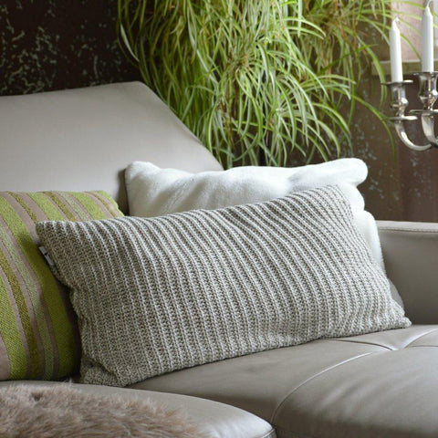 "Beige Designer Cushion with Integrated 2 litre ""Eco-Sustainable"" Hot Water Bottle"