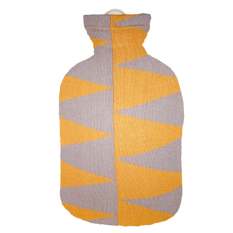 2 Litre Sanger Hot Water Bottle with Pyramid Cover