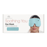 Luxury Sky Blue Cotton Eye Mask