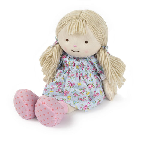 Olivia Microwave Warmheart Ragdoll - Hotwaterbottleshop.co.uk