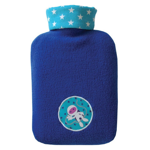 "0.8 litre ""Eco-Sustainable"" Hot Water Bottle with Astronaut Cover (rubberless) (final few!) - Hotwaterbottleshop.co.uk"