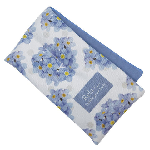 Forget Me Not Scented Floral Microwaveable Body Wrap - Hotwaterbottleshop.co.uk