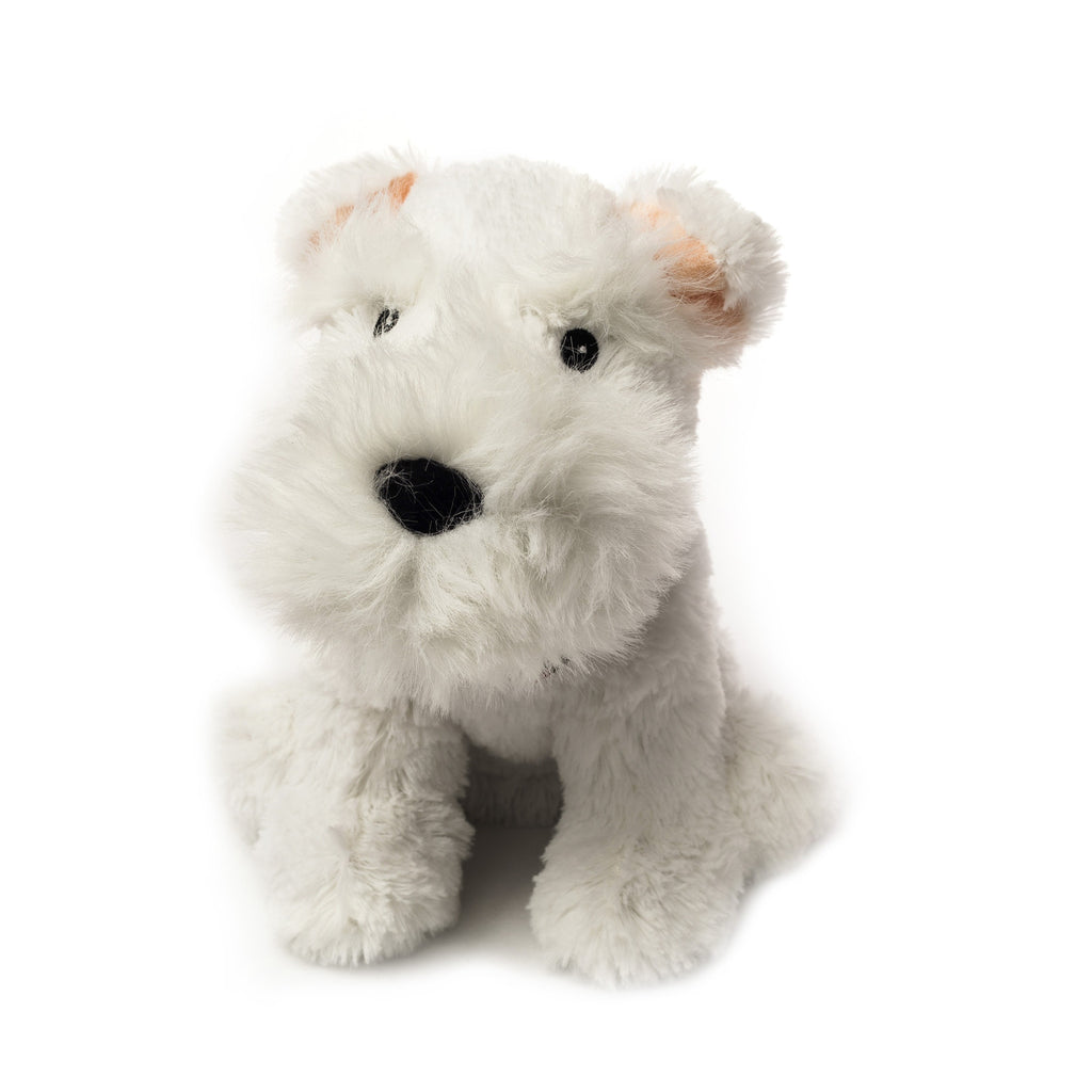 Cozy Plush Westie Microwave Animal - Hotwaterbottleshop.co.uk