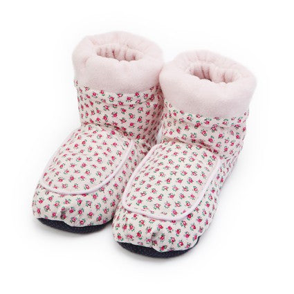 Pink Hot Pak Microwave Boots