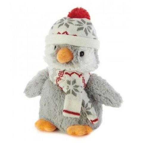 Cozy Plush Penguin Microwave Animal Toy